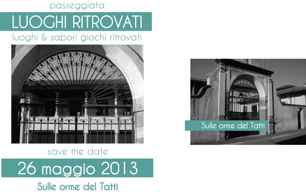 Save the date sulle orme del Tatti - Turbigo
