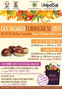 Castagnata Turbighese e Festa di Halloween 2017