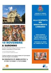 Visita a Saronno